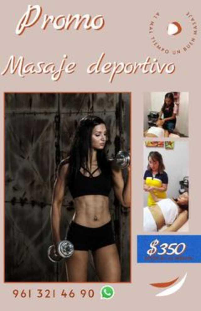 promocion masaje deportivo chiapas