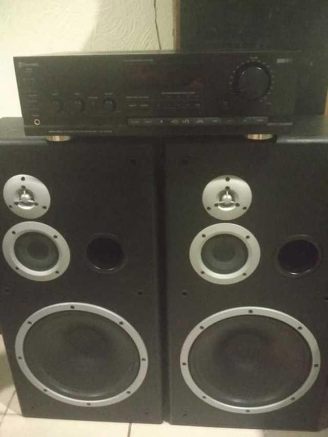 Baratos Amplificador y Bocinas De lujo!!!