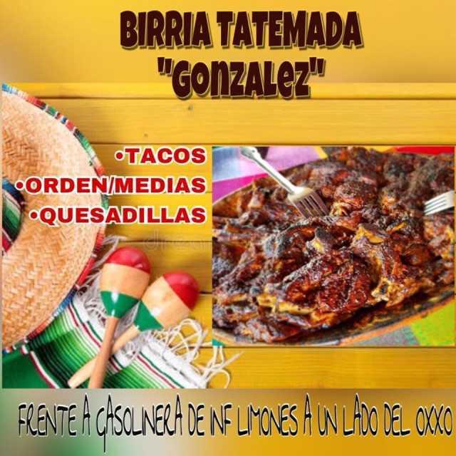 BIRRIA TATEMADA GONZALEZ