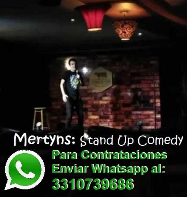 comediante, la vaca de troya, sigue a mertyns en facebook, chistes, rutina, macario brujo