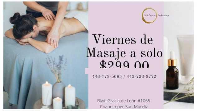 Depilación láser y masajes terapeuticos