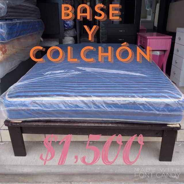 Gran venta de muebles y colchónes