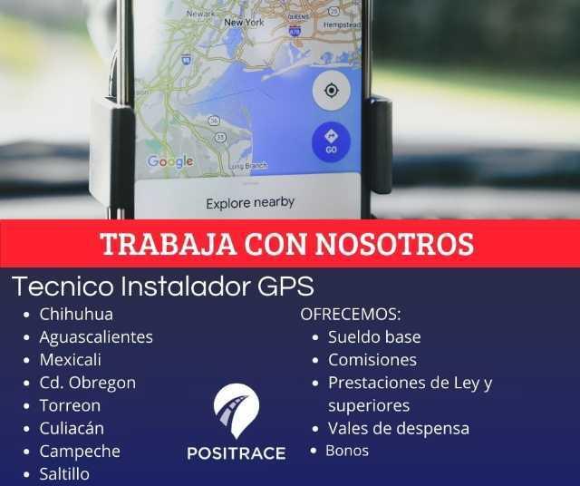 Instalador GPS zona Mexicali