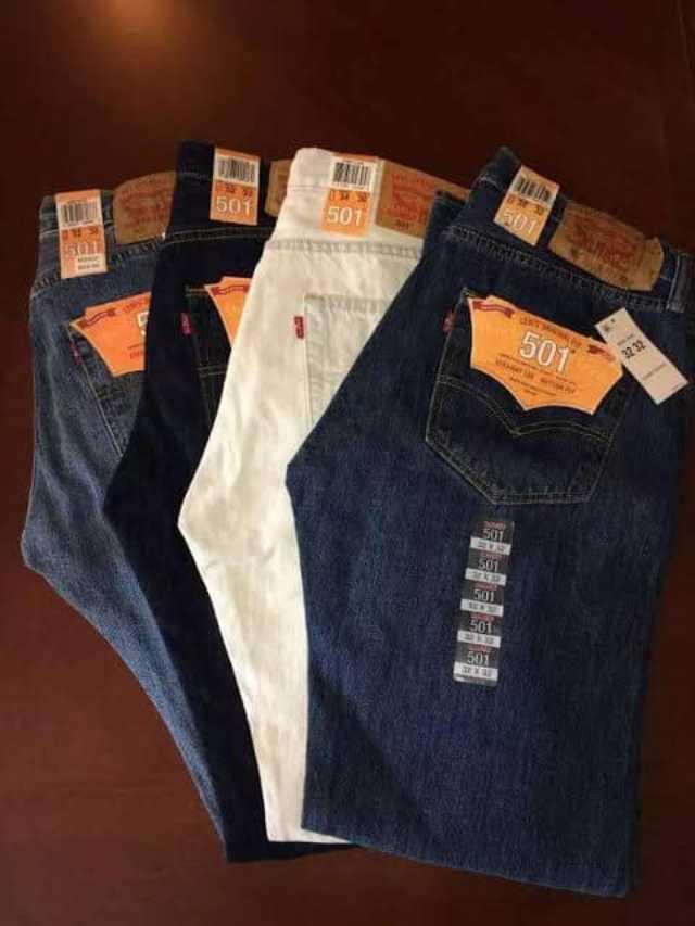 Jeans de marca Levi's hecho en U.S.A