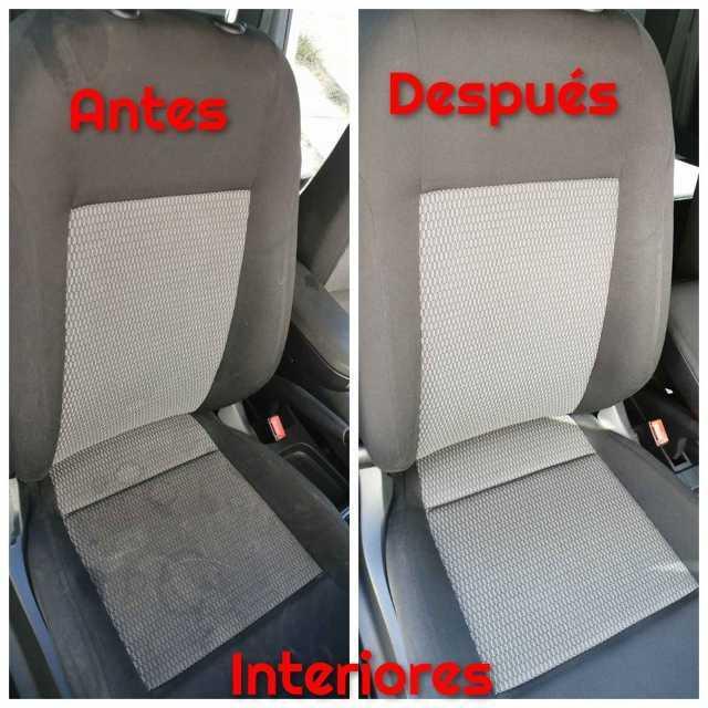 Lavado de vestiduras, cielos, alfombras, plásticos, postes, puertas, tablero, consola central y cajuela para cualquier tipo de vehículo