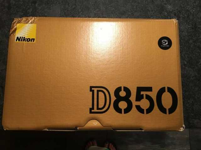 NIKON D850 FX Format Digital SLR 45.7 MP Camera