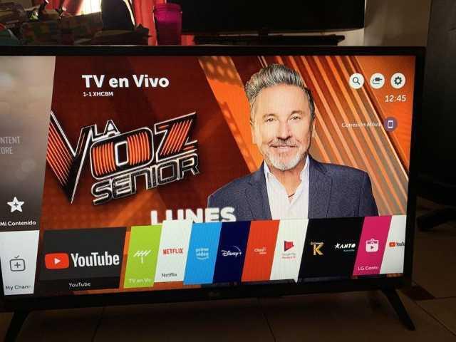 """PANTALLA LG DE 32"""" SMART TV Y 4K AÑO 2019"""