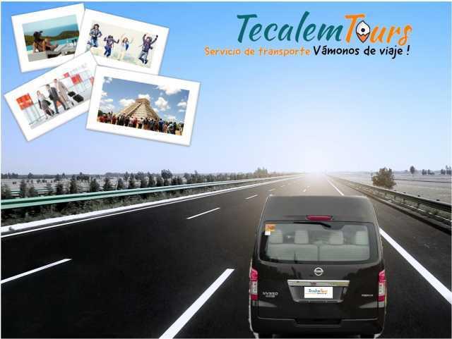 RENTA DE CAMIONETAS PARA VIAJES TECALEM TOURS