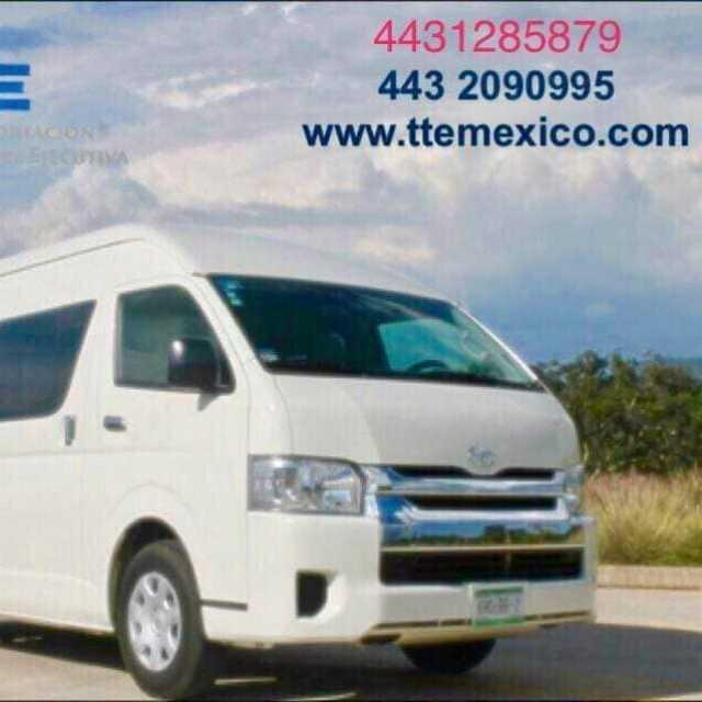Renta de Vans solo en TTE Mexico