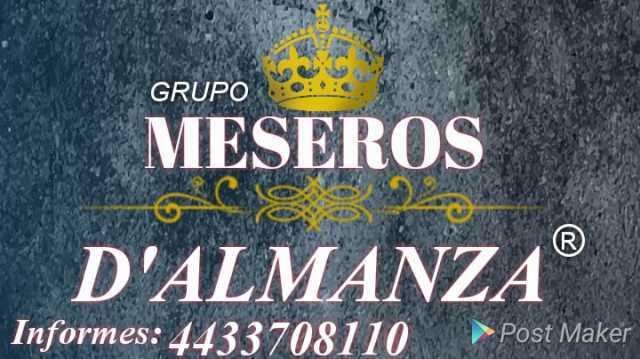 SERVICIO DE MESEROS D'ALMANZA