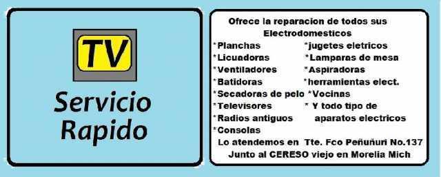 TV Servicio Rapido