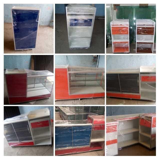 Venta de Anaqueles económicos vitrinas mostradores exhibidores módulos de cobro